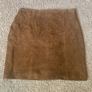 Learsi Faux Suede Skirt